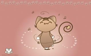 小猫听音乐xp主题
