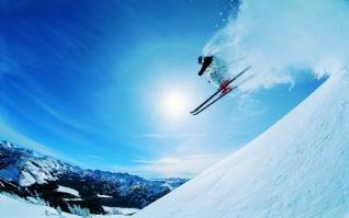 滑雪小子win7主题